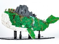 A whale… that is also an island! | The Brothers Brick | LEGO Blog