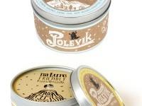 Polevik Candle Package Design on
