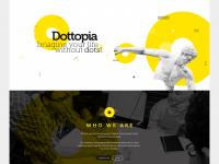 Dottopia web design UX/UI on