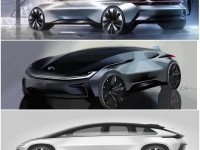 """Joshua Henson on Instagram: """"FF?Forever changing the landscape of automotive design / See more at www.ff.com @faradayfuture #FF #faradayfuture #FF91 #FirstOfTheSpecies…"""""""