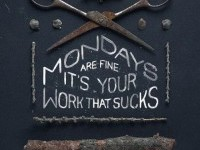 Typeverything.com - Mondays by Gosha Bondarev. -