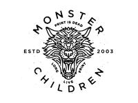 Monster Children Dire Wolf by Brian Steely
