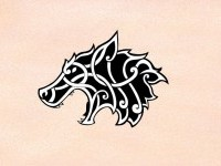 viking art + wolf - Google Search