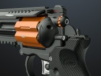 ArtStation - Concept revolver - Rhino and octane., Mac Sud
