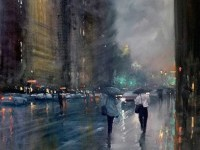 Melbourne's Rainy Cityscapes by Mike Barr