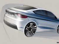Tata Kite-5 Compact Sedan Officially Christened As Tata Tigor; Design Sketch Revealed | Motoroids