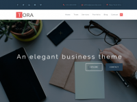 Tora — Free WordPress Themes