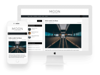 Moon - Best free responsive wordpress theme