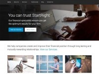 StartRight Free WordPress Business Theme - Create and Code