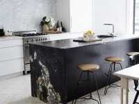 Kitchen Design: Black Marble is the New White Marble | Apartment Therapy