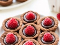 Chocolate Raspberry Tartlets (Gluten Free, Paleo + Vegan) - Bakerita