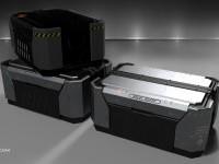 ArtStation - Sci-Fi Ammo Crate, Benaissa Benchaa