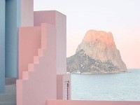 La Muralla Roja, Spain by architect Ricardo Bofill on Inspirationde