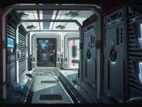 ArtStation - Corridor, Ricean Vlad