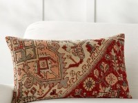 Yasmine Lumbar Pillow Cover | Pottery Barn