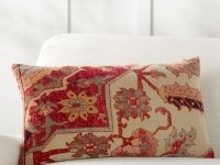 Remi Printed Lumbar Pillow Cover | Pottery Barn