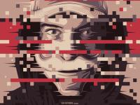 Mr. Robot Poster Design on Inspirationde