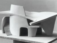 SCANDINAVIAN COLLECTORS - ANDRÉ BLOC, Architectural maquette, c.1950s....