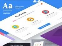Modular UI Kit on Inspirationde
