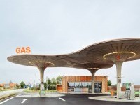 Gas station by atelier sad slovakia in Architecture & Interior design