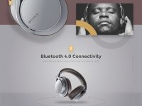 Headphones by Sencer in Web design