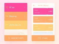 30 Colorful Mobile UI Design to Inspire You -