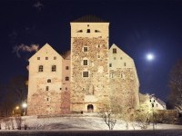 Free Images : landscape, snow, winter, night, building, chateau, evening, tower, church, port, turku, turku's castle 1920x1082 - - 1279969 - Free stock photos - PxHere
