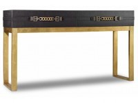 Hooker Furniture Living Room Melange Genevieve Console 638-85280-BLK