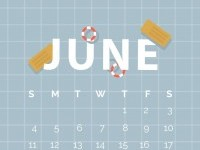 Free wallpapers for June–happy summer on Inspirationde