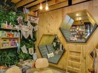 9 3/4 BOOKSTORE CAFÉ / Diseño interior on