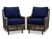 Fabron 2-Pack Wicker Motion Club Chair - Threshold? : Target