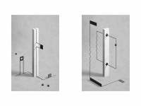Monolith Illustrations by Fabrice Le Nezet