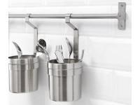GRUNDTAL Rail Stainless steel 80 cm - IKEA