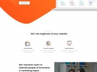 Score Digital Agency Landing Page | Inspire Design