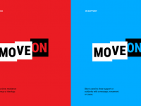 Brand New: New Logo and Identity for MoveOn by RedPeak