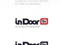 In Door TV - Process logo creating on Inspirationde
