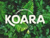 Koara / Handmade Font Family on Inspirationde