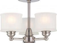 Minka-Lavery - 1730 Series 3 Light Semi Flush Mount | Lamps.com